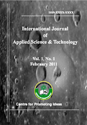 International Journal of Applied Science and Technology